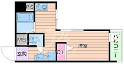 ラインハイツ瀬戸[3階]の間取り