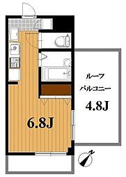 千葉県船橋市海神1丁目の賃貸マンションの間取り