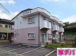 愛知県蒲郡市大塚町馬通の賃貸アパートの外観