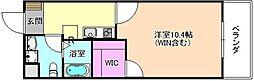 モダンアパートメント枚方岡山手町[2階]の間取り