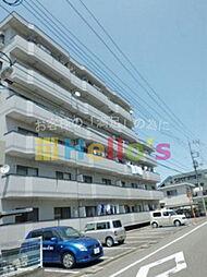 東京都福生市加美平1丁目の賃貸マンションの外観