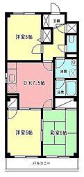 ファインファースト久地[1階]の間取り