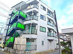 東京都日野市三沢2丁目の賃貸マンションの外観