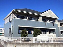愛知県岡崎市宇頭町字才六の賃貸アパートの外観