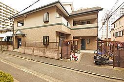 福岡県福岡市中央区渡辺通5丁目の賃貸アパートの外観
