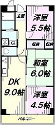 JR青梅線 福生駅 徒歩5分の賃貸マンション