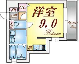 ハイマート須磨[2階]の間取り