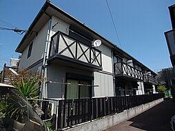 兵庫県神戸市須磨区桜木町2丁目の賃貸アパートの外観