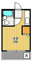 ダジュール松原[3階]の間取り