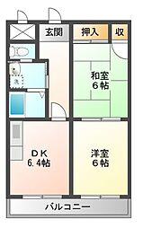 グランデージSUMI[1階]の間取り