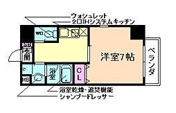フルールアクアリオ[5階]の間取り