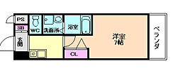 グランデ福島[3階]の間取り