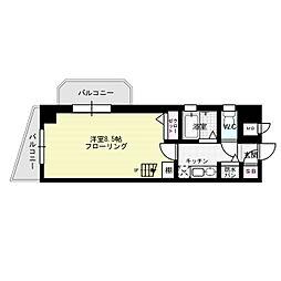 パークコート太宰府[4階]の間取り