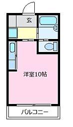 セラヴィ[3階]の間取り