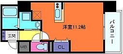 プライムレジデンス神戸県庁前[7階]の間取り