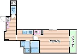 ファーレ[5階]の間取り