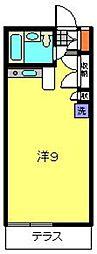 フラット8[12号室]の間取り