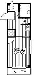 TIARA元町[301号室]の間取り