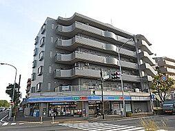 神奈川県横浜市都筑区平台の賃貸マンションの外観