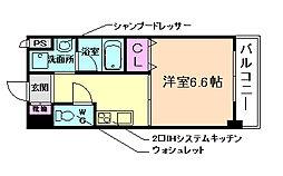 キセラコートWAKO[2階]の間取り