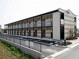 愛知県岡崎市森越町字郷前の賃貸アパートの外観