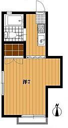千葉県船橋市習志野台8丁目の賃貸アパートの間取り