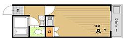 サンハイツ鈴蘭台[2階]の間取り