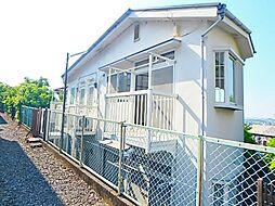 東京都日野市三沢2の賃貸アパートの外観