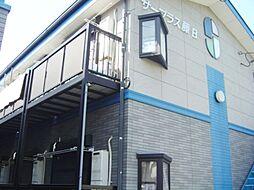 静岡県静岡市駿河区登呂4丁目の賃貸アパートの外観