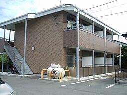 愛知県豊川市市田町の賃貸アパートの外観