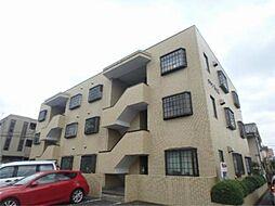 東京都日野市万願寺5丁目の賃貸マンションの外観