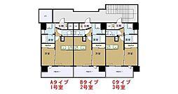 アンピールメゾン春日原駅[2階]の間取り