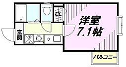 ベル・エトワール[3階]の間取り