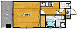 孝栄ビル[305号室]の間取り