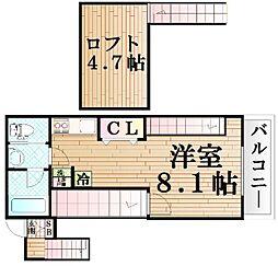 (仮称)サンヴィアーレリべルタプレール東四つ木4丁目計画[201号室]の間取り