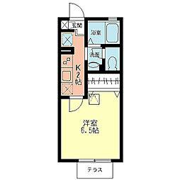 シオン北鎌倉[1階]の間取り