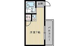カンフォート吹田[2階]の間取り