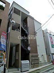 神奈川県横浜市港北区大曽根1丁目の賃貸アパートの外観