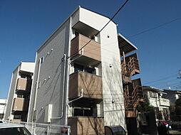 千葉県柏市明原1丁目の賃貸アパートの外観