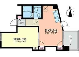 神奈川県藤沢市辻堂5丁目の賃貸マンションの間取り