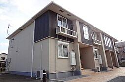 滋賀県東近江市札の辻1丁目の賃貸アパートの外観