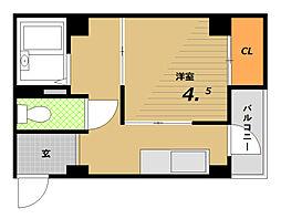 丸吉マンション[2階]の間取り