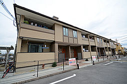 大阪府堺市南区栂の賃貸アパートの外観