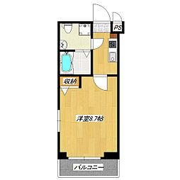 グランパーク東京NORTH[4階]の間取り