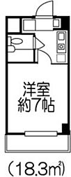 セカンドフラット[3階]の間取り