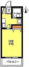 ユアハウス[1階]の間取り