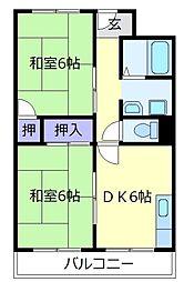 メゾンドシャトレ[4階]の間取り