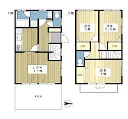 [テラスハウス] 神奈川県横浜市都筑区北山田6丁目 の賃貸【/】の間取り