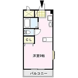 ピュアハウス[307号室]の間取り
