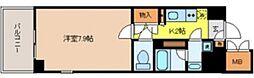 東京都文京区湯島1丁目の賃貸マンションの間取り